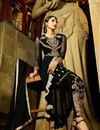 photo of Black Georgette Salwar Kameez with Embroidery