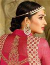 picture of Pink Festive Wear Georgette Designer Salwar Suit