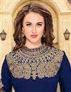 photo of Ravishing Blue Color Party Wear Embroidered Salwar Kameez