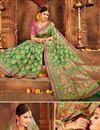 photo of Weaving Work Banarasi Silk Designer Saree with Fancy Blouse