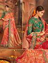 image of Wedding Special Weaving Work Traditional Fancy Saree in Banarasi Silk