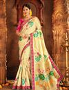 image of Weaving Work Banarasi Silk Traditional Fancy Saree