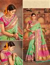image of Weaving Work Designer Banarasi Silk Traditional Fancy Saree