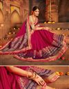 photo of Wedding Special Weaving Work Function Wear Fancy Rani Designer Saree