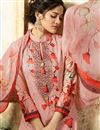photo of Pink Digital Print Cotton Fabric Dress With Digital Print Dupatta