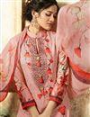 photo of Pink Digital Print Cotton Fabric Dress With Digital Print Dupatta