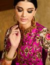 photo of Chikoo Festive Wear Designer Silk-Jacquard Saree