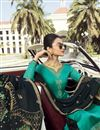 photo of Eid Special Classic Cyan Embroidered Function Wear Palazzo Dress In Georgette