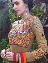 picture of Chikoo Georgette Long Length Salwar Suit