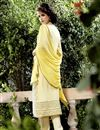 photo of Yellow Color Designer Salwar Kameez In Georgette Fabric