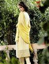 photo of Yellow Color Designer Salwar Kameez In Georgette Fabric