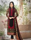 image of Black Color Georgette Designer Salwar Suit