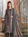 image of Black Color Embroidered Designer Straight Cut Salwar Kameez