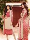 image of Shilpa Shetty Cream Color Designer Party Wear Georgette Fabric Salwar Kameez