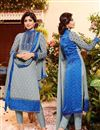 image of Shilpa Shetty Grey Color Designer Salwar Suit In Georgette Fabric