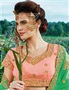 photo of Wedding Wear Fancy Designer Pink Art Silk Embellished Lehenga
