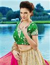photo of Function Wear Designer Off White Net Fancy Embroidered Lehenga Choli