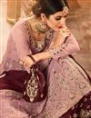 photo of Fancy Function Wear Georgette Embroidered Designer Sharara Dress In Pink