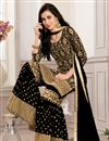 photo of Embroidered Function Wear Fancy Sharara Suit In Georgette