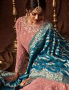 photo of Designer Pink Georgette Embroidered Function Wear Long Anarkali Suit