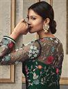 photo of Dark Green Function Wear Designer Long Length Anarkali Suit In Net Fabric