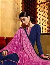 photo of Blue Color Georgette Designer Salwar Kameez