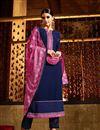 image of Blue Color Georgette Designer Salwar Kameez