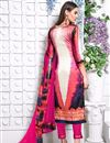 photo of Pink Color Party Wear Salwar Kameez In Satin Fabric