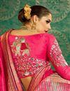 photo of Handloom Weaving Work Art Silk Traditional Fancy Saree In Pink