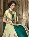 photo of Art Silk Wedding Wear Embroidered Designer Anarkali Suit In Beige