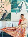 photo of Designer Sangeet Function Wear Art Silk Weaving Work Saree In Beige