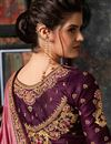 photo of Pink Art Silk Fabric Festive Saree With Embroidery Work And Gorgeous Blouse