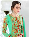 photo of Classic Green Color Designer Salwar Kameez
