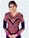 photo of Magnetic Georgette Embroidered Party Wear Salwar Suit