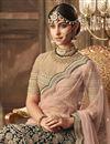 photo of Dark Green Velvet Fabric Function Wear Designer Embroidered Lehenga Choli