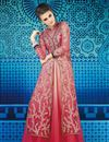 image of Pink Wedding Wear Sharara Top Lehenga Choli