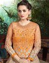 photo of Mesmeric Orange-Beige Designer Lehenga Choli