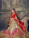 photo of Wedding Special Embellished Wedding Function Wear Silk Lehenga Choli