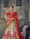 image of Wedding Special Embellished Wedding Function Wear Silk Lehenga Choli
