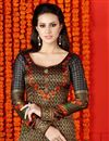 photo of Enchanting Multi Color Party Wear Digital Print Salwar Suit In Satin Fabric