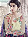 photo of Silk Fabric Embroidered Designer Salwar Suit In Beige Color