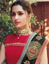 photo of Grey Designer Saree In Fancy Fabric With Embroidery Designs And Attractive Blouse