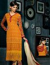 image of Charismatic Straight Cut Embroidered Salwar Kameez