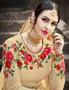 photo of Long Floor Length Embellished Anarkali Dress in Georgette