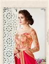 photo of Party Wear Pink Color Georgette Designer Saree With Fancy Blouse