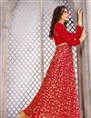photo of Embellished Fancy Salwar Suit In Banglori Silk Red