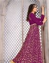 photo of Embroidered Fancy Party Wear Salwar Suit In Banglori Silk