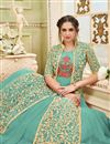 photo of Floor Length Net Embellished Anarkali Salwar Suit