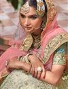 photo of Net Sangeet Wear Lehenga With Embroidery Work In Cream