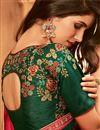 photo of Festive Wear Pink Color Art Silk Designer Border Work Saree
